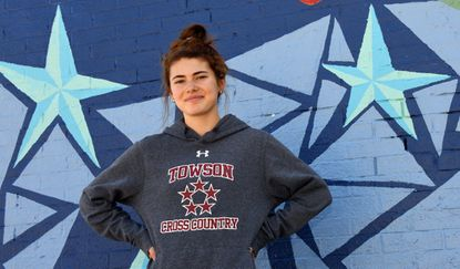 Towson High's Madeline Till hopes to be ready for a strong outdoor season before she runs at Rhode Island in the fall.