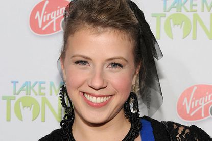 Jodie Sweetin, on a red carpet in 2011, says she's definitely not in rehab.