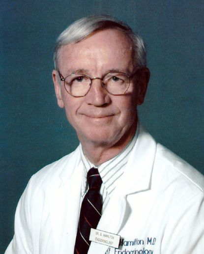Dr. Bruce P.M. Hamilton was known for his comforting bedside manner and took a deep interest into the lives of his patients.