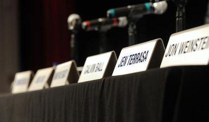 Howard County Council nameplates