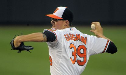 Right-hander Kevin Gausman has allowed a combined two earned runs in his past three starts and is 3-1 this season.