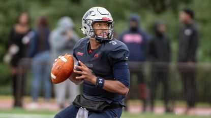 The Howard football program is leaning on junior quarterback Caylin Newton to lead the Bison to the Mid-Eastern Athletic Conference title. It helps that Newton is part of a family that includes Carolina Panthers quarterback Cam Newton.