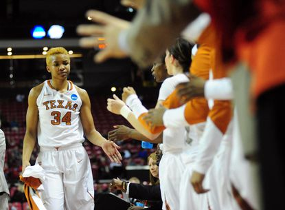 Maryland women face a tall task in stopping Texas center Imani McGee-Stafford