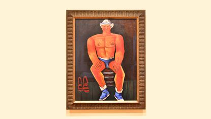The Buff Dude Wing: Marsden Hartley's 'Flaming American' at the BMA