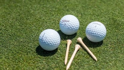 Titleist x-rays every ball it produces to ensure a proper construction and design in the center core.