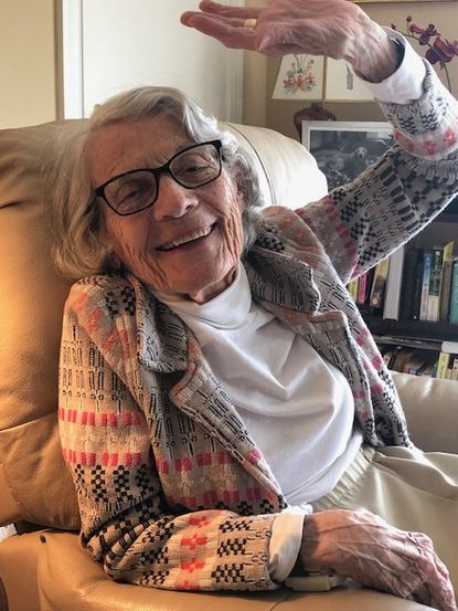 """Margaret M. """"Peggy"""" Rowland taught at Stoneleigh Elementary School for 25 years before retiring in 1981."""