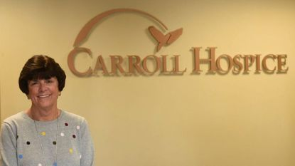 Executive Director of Carroll Hospice, Ragina Bodnar is pictured.