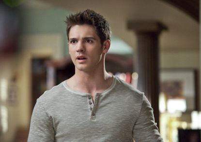 "Steven R. McQueen as Jeremy Gilbert on ""The Vampire Diaries."""