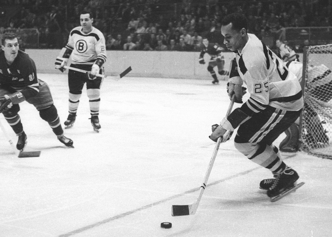 Willie O'Ree, who broke the NHL's color barrier, to have ...