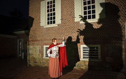 Em Waymire gives ghost tours in Annapolis throughout the fall.