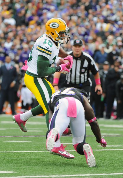 Hit on Packers' Randall Cobb sparks conversation on narrowing targets for defensive players