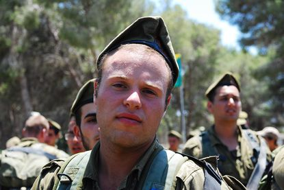 Israel Defense Forces soldier Jordan Low, 19, a native of Baltimore and graduate of Beth Tfiloh Dahan Community School, was wounded Sunday in Northern Gaza, his father said. He is recovering at a hospital in Tel Aviv.