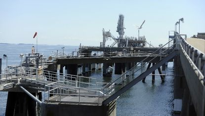 Dominion's Cove Point LNG terminal near Lusby would be upgraded and expanded to liquefy and export natural gas if the project gains federal approval.