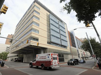University of Maryland Shock Trauma Critical Care Tower
