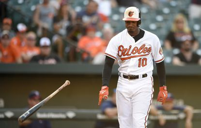 Orioles notebook: Adam Jones out of lineup Tuesday with shoulder injury