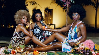 This photo by the New York-based artist Mickalene Thomas is part of the Baltimore Museum of Art's permanent collection. Thomas will be the first artist commissioned for an installation funded by the museum's third-largest donation in its history.