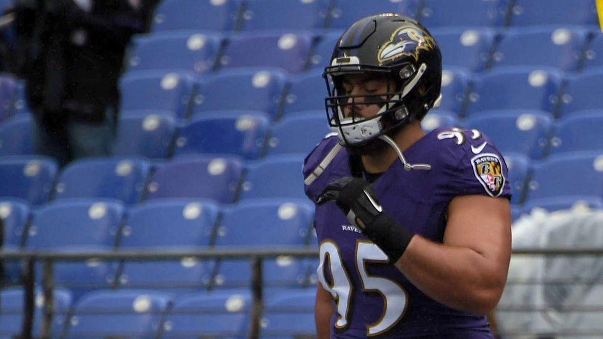 online store e66c9 dc1c8 Ravens rookie Zach Sieler hopeful that NFL debut on Sunday ...
