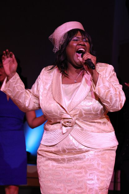 "Kelli Blackwell in ArtsCentric's production ""Sincerely, Me"""
