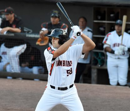 Aberdeen's Ryan Ripken, who missed time recently with an injury, had two hits in the team's game one win on Wednesday.