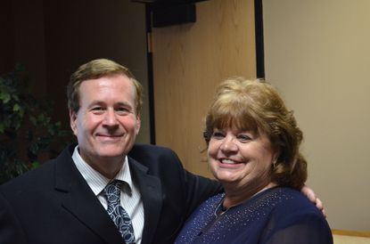 John and Joan Link, of Eldersburg, celebrated 50th anniversary,