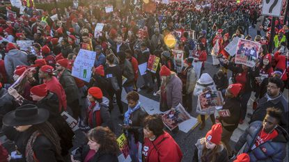 After ratification of agreements Wednesday night, Carroll County Public Schools employees will receive raises. This year, educators and supporters across the state rallied in Annapolis to support education funding.