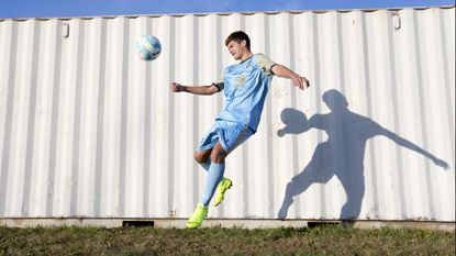 River Hill senior Justin Harris did it all as Howard County boys soccer Player of Year