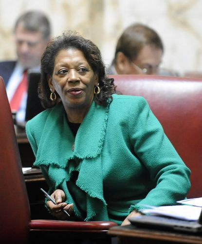 Bill sponsored by Sen. Joan Carter Conway, a Baltimore city Democrat, would let ex-felons register to vote once out of prison and while still on parole or probation.