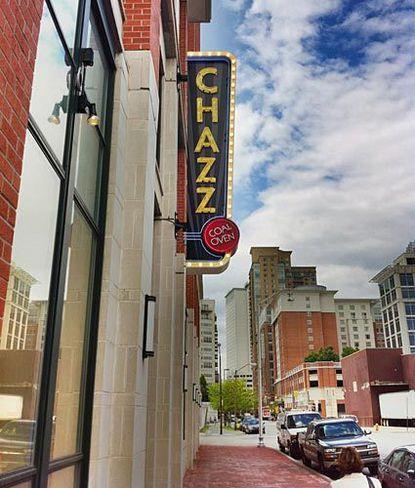 Chazz Palminteri's pizza restaurant is open in Harbor East.