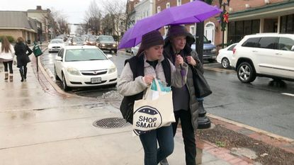 Shoppers come out for downtown Bel Air stores on Small Business Saturday, despite rainy weather
