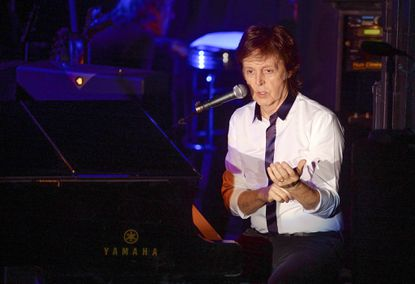 Paul McCartney, shown here earlier this month in New York, will headline this year's Firefly Music Festival.