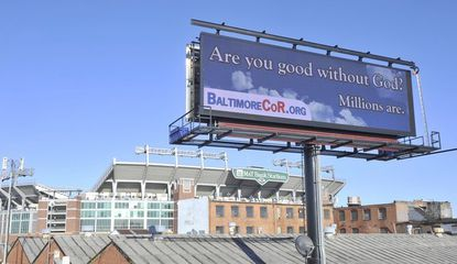 An electronic billboard near M&T Bank Stadium. The City Council is considering allowing more billboards in the city after a more than two-decade ban.