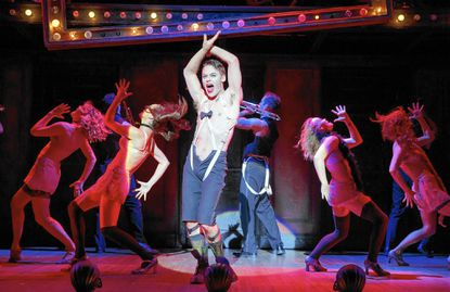 "Randy Harrison plays the emcee in the production of ""Cabaret"" coming to The Hippodrome."