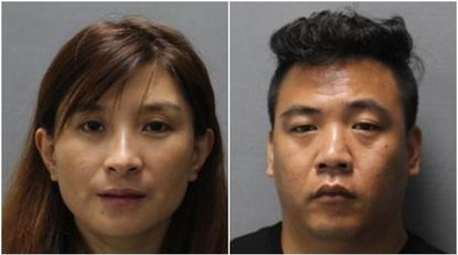 Two arrested, charged with human trafficking in Jessup