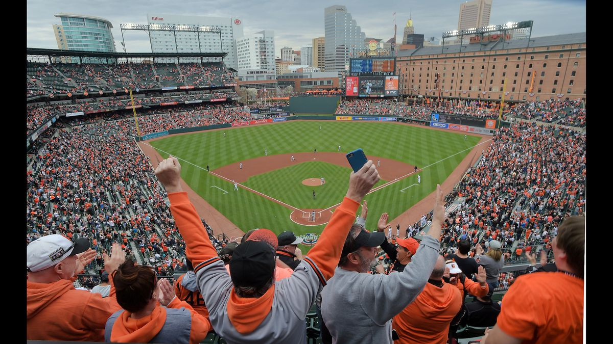 Yankees Home Opener 2020.Orioles To Host Yankees On Opening Day Both Visit And Host
