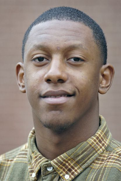 Dunbar quarterback Jonathan Perry is the boys Athlete of the Week.