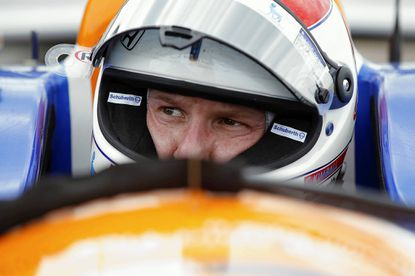 """""""A lot of my ability to get back in the race car is due to developments in medication,"""" said driver Charlie Kimball who has diabetes."""