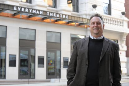 Everyman founder and Artistic Director Vincent M. Lancisi pictured at the new Everyman Theatre on West Fayette Street.