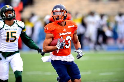 Morgan State wide receiver Manasseh Bailey was signed as an undrafted free agent by the Philadelphia Eagles.