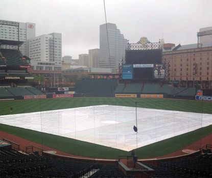Rain postpones Orioles-Pirates game Tuesday
