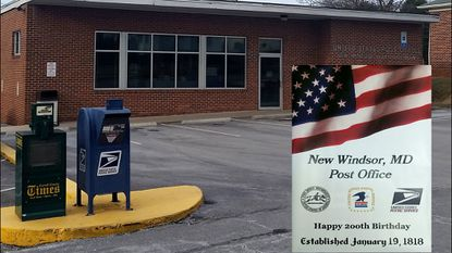 This year is the 200th anniversary of the New Windsor Post Office. In 1965, a new post office on Maple Avenue was dedicated.