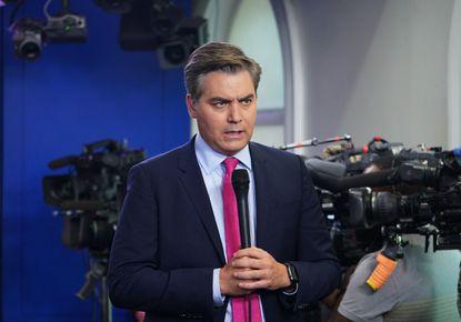 White House suspends press pass of CNN correspondent Jim Acosta