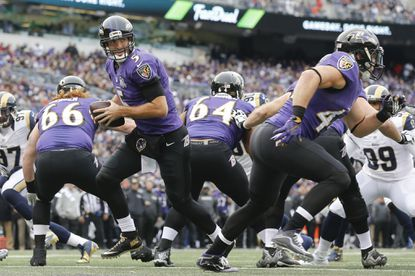 Joe Flacco's season-ending knee injury takes already disastrous 2015 campaign to a new low