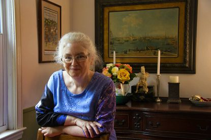 """Laura Amy Schlitz, who still works as a librarian at Park School, is awaiting publication of her latest book, 'Splendors and Glooms."""""""