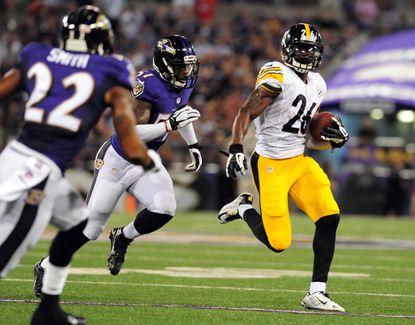 Predicting three stars for Ravens vs. Steelers