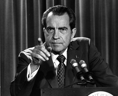 """Former President Nixon has been accused of using the """"War on Drugs"""" as a policy tool to go after anti-war protesters and black people."""