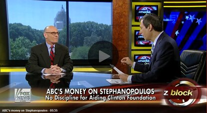 "Howie Kurtz and I talk about the ethical failures of George Stephanopoulos and Brian Williams on Sunday's ""Media Buzz."""
