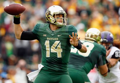 Baylor's Bryce Petty has passed for 20 touchdowns this season with three interceptions.
