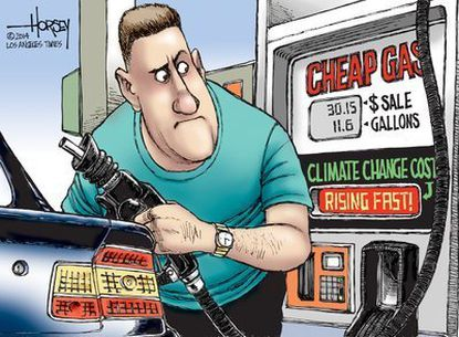 The down side of cheap gas