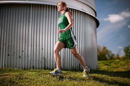 After a standout high school career, Glenelg Country senior Hannah Mansbach is headed to run for the University of Maryland in the fall.