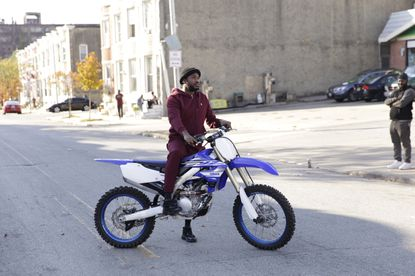 """Promotional still image of Meek Mill in HBO Max's """"Charm City Kings."""" (HBO Max handout/Baltimore Sun)."""